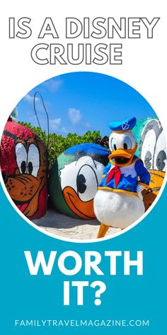 With lots of cruise options, you may wonder if a Disney Cruise is worth it. Here are some considerations before booking. Run Disney, Disney Cruise Line, Disney Dream, Disney Magic, Disney World Tips And Tricks, Disney Tips, Family Cruise, Cruise Vacation, Get Away Today