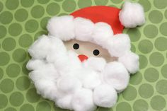 One of my favorite ways to get into the Christmas spirit is by making Christmas crafts with my son. It's such a fun thing to do together, and I love seeing him beam with pride when we're all done. Not only is this Santa craft simple enough for toddlers and preschoolers to make, but it's mess free!  To make this cotton ball Santa you'll need: Silhouette adhesive cardstock (white) cardstock (red, black, and tan) glue cotton balls  I didn't end up using every piece of the design. You'll w...