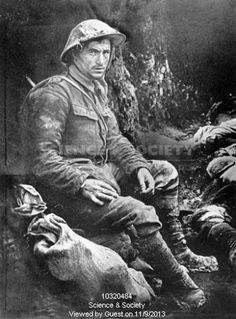 Private John Bailey, Battle of the Somme, 1916.
