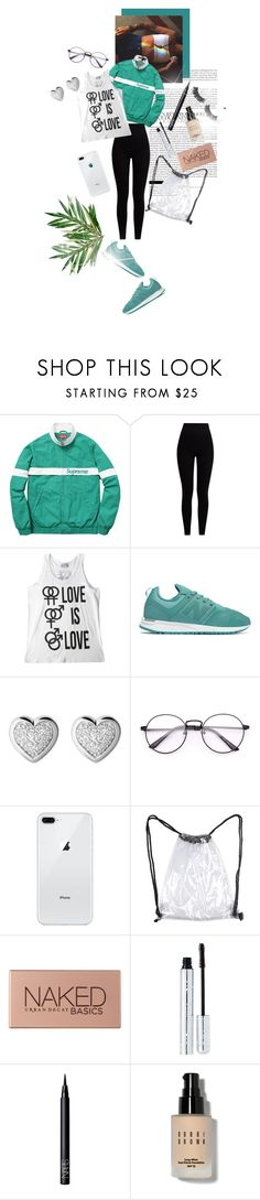 """I just want to kiss you in public."" by brook-s18 ❤ liked on Polyvore featuring Pepper & Mayne, New Balance, Links of London, Urban Decay, 100% Pure, NARS Cosmetics, Bobbi Brown Cosmetics and Battington"
