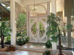 Spectacular Entrance door of Walske Residence in Kamuela Hawaii United States