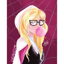 Resultado de imagen para dibujos de spider gwen