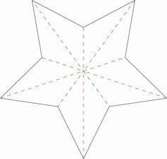 nille Sverige: DIY / gör-det-själv: Vik en dekorativ stjärna!