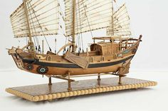 Photos ship model Chinese river junk of 19th century, details Junk Ship, China Map, Model Ships, Rowing, Model Photos, Sailing Ships, Pirates, 19th Century, Chinese