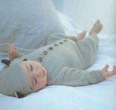 adorable knit onesie. DIY