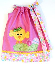 "the little catterpillar dress for baby girls | Baby Girl Easter Dress - ""My Little Chic-A-Dee"" Custom Boutique ..."