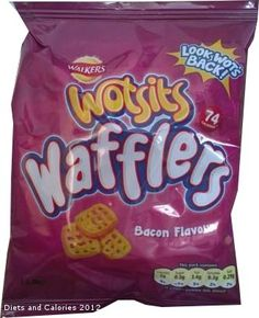 Walkers Wotsits Wafflers - 74 calories