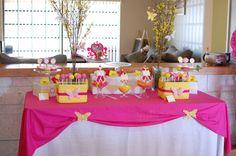 fairy/butterfly dessert table
