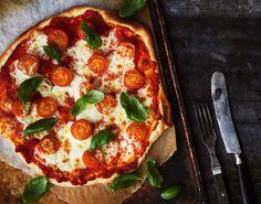 Pizza margarita | Pizzat ja piirakat | Kodin Kuvalehti