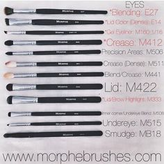 "Morphe Brushes on Instagram: ""Our Morphe Girl @kimthainguyen shares her fave brushes for everything EYES This is so helpful! Tag a friend below to share it.…"" #beauty #love - http://urbanangelza.com/2016/02/09/morphe-brushes-on-instagram-our-morphe-girl-kimthainguyen-shares-her-fave-brushes-for-everything-eyes-this-is-so-helpful-tag-a-friend-below-to-share-it-beauty-love/?Urban+Angels http://www.urbanangelza.com"