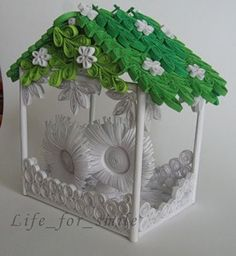 quilled house!!