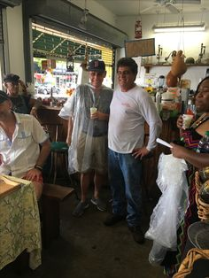 7/20/2017- On The Little Havana Food & Cultural Tour... we not only eat local but we meet the locals  too.. at the Pineranos Produce Stand on the trail!