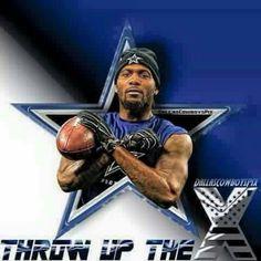 Dez Bryant WR #88 Throw Up The X- Dallas Cowboys