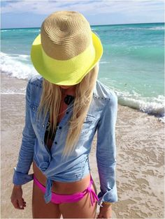 d4303dde169c just love this...beach outfit Fashion Mode, Look Fashion, Fashion Outfits