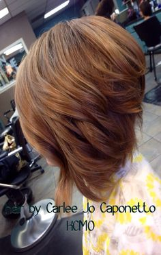 Wavy Inverted bob More