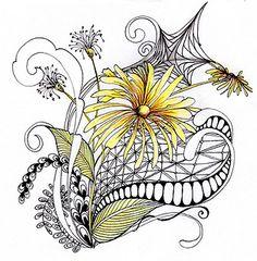 daisyweb by papernstuff, via Flickr