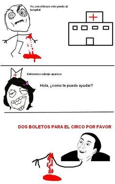 No_me_digas - Enfermera troll