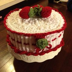 Strawberry Shortcake that is a paper plate holder & paper plate holders | paper plate holder not only decorative but ...