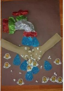 Germ crafts for preschool Preschool Arts And Crafts, Paper Crafts For Kids, Kindergarten Activities, Projects For Kids, Activities For Kids, Diy And Crafts, Germ Crafts, Human Body Crafts, Body Preschool