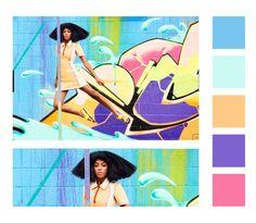 #color #palette #solange #solangeknowles #puma #photoshoot #inspiration