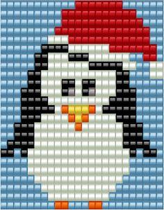 KleuriG: (Kerst) kaarten maken van overgebleven steentjes van Diamond Painting Christmas Charts, Christmas Cross, Xmas Cross Stitch, Cross Stitch Patterns, Christmas Perler Beads, Diamond Paint, Beading Patterns Free, Pony Beads, Bead Crafts