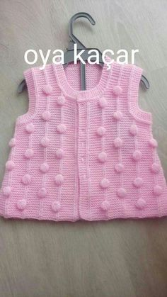 Crochet Bebe, Baby Sweaters, Baby Knitting Patterns, Diy And Crafts, Women, Fashion, Kid Outfits, Sweater Vests, Jackets