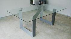Mesa De Comedor Principal De Vidrio - Modelo Exclusivo - - $ 6.500,00