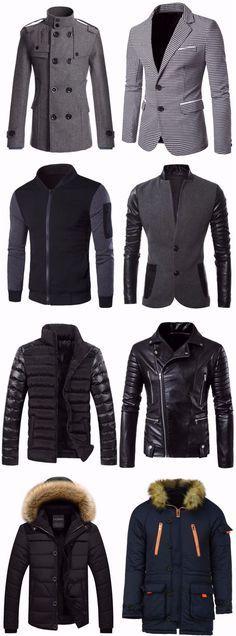 #Mens #Fashion Jackets & Coats   Up To 85% OFF   Start From $8.88   Sammydress.com