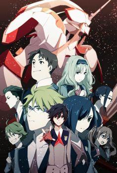 potata darling in the franxx futoshi (darling in the franxx) gorou (darling in the franxx) hiro (darling in the franxx) ichigo (darling in the franxx) ikuno (darling in the franxx) kokoro (darling in the franxx) miku (darling in the franxx) mitsuru (d I Love Anime, Me Me Me Anime, Otaku Anime, Manga Anime, Querida No Franxx, Anime Plus, L Death Note, Zero Two, Animation