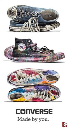Converse Shoes - Shop Converse All Star Sneakers - Famous Footwear Cool Converse, Custom Converse, Outfits With Converse, Converse Sneakers, Converse All Star, Custom Shoes, Converse Chuck Taylor, Galaxy Converse, Converse Style