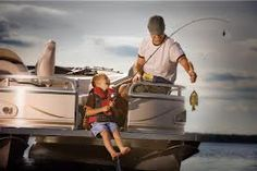 Fishing is a strong bond between father and son