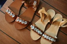 DIY: Marni Jeweled Leather Sandals