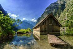 Obersee Berchtesgaden Bayern