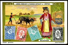 Liebig S628 Bulgarian Postage Stamps | Flickr - Photo Sharing!
