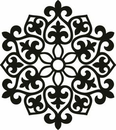 The vector file 'Laser Cut Placemats dxf File' is AutoCAD DXF ( .dxf ) CAD file type, size is KB, under patterns vectors. Stencil Patterns, Stencil Designs, Embroidery Patterns, Stencil Templates, Motifs Islamiques, Motif Arabesque, Motif Art Deco, Diy And Crafts, Paper Crafts