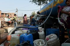 Ten million of people in Delhi, India, are without water despite the army regaining control of its key water source after protests,