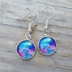 Galaxy Earrings #earrings #etsy #etsyseller #etsyshop #etsyfinds #ootd #jewelry #picoftheday #photooftheday #pickoftheday #style #shopsmall #shophandmade #handmade #giftsforher #stockingstuffers #earringlove #fashion #perfectgifts #gifts #galaxy #galaxygearrings #stars #constellations #star