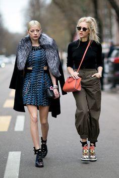 Milan Fashion Week Street Style Fall 2016