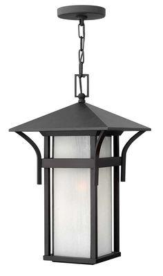 Harbor Hanger Outdoor shown in Satin Black by Hinkley Lighting - 2572SK-GU24
