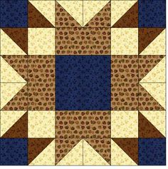 Quilt Blocks of the States - Wyoming - Instructions for all state blocks