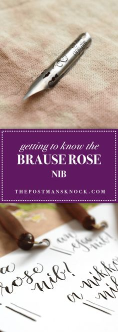 Getting to Know the Brause Rose Nib – The Postman's Knock