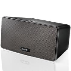 Sonos Play 3: Awesome addition to any home. Control and play your music collection wirelessly (and from your phone!)    #music, #home