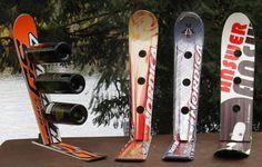 Čo všetko sa dá vyrobiť zo starých lyží? | Snowmagazin