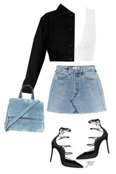 Untitled #40 by jestynenicole on Polyvore featuring polyvore, fashion, style, Yves Saint Laurent, Dsquared2 and clothing
