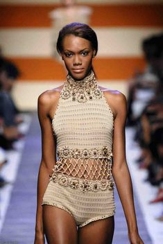 Bikinis Crochet, Crochet Romper, Crochet Clothes, Knit Crochet, Mode Du Bikini, Crochet Bathing Suits, Bikini Pattern, Crochet Woman, Crochet Fashion