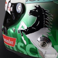 Vettel Helmet Design German GP Hockenheim 2016