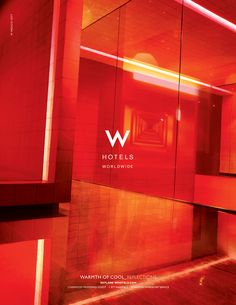 W Hotels - Hospitality & Travel Branding Case Study - RDA International Hotel Advertisement, Hotel Ads, W Hotel, Advertising, Property Ad, Brand Style Guide, Fashion Branding, Case Study, Style Guides