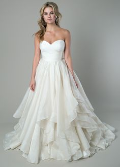 'Scarlett Mitchell' Glamorous and romantic, this ball gown features a delicate…
