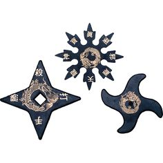 A set of rubber ninja stars, perfect for your ninja training without the damaging effects as real weapons. Ninja Japan, 9 Tails, Ninja Training, Ninja Star, Little Sis, Shuriken, Cosplay, Martial Arts, Brother