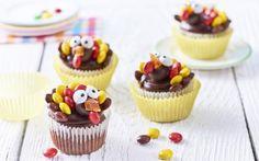 Cupcakes ala veselí krocani » Pečení je radost